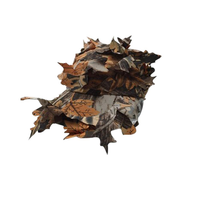 Tactical Military Leaf Cap Hunting Multifunction Sniper Hidden Jungle Camouflage bionic hat