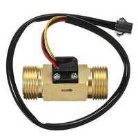 DN20 G3/4 Copper Water Flow Sensor Pulse Output 1.75Mpa 2~45L/min Flowmeter