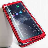 Bakeey 360° Full Body PC Front+Back Cover Protective Case+Screen Protector For Samsung Galaxy S9/S9 Plus/Note 9