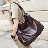 Women Vintage Genuine Leather Handbag