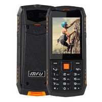 MFU A903S 3G Network IP68 Waterproof 2.8 inch 2700mAh True Wireless bluetooth FM GPRS Dual Camera Dual SIM Card Feature Phone