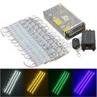 Buy at Best Price 80PCS 5 Colors SMD5050 LED Module Store Strip Light Front Window Lamp + Power Supply + Remote DC12V