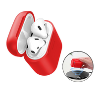 Baseus Qi Wireless Receiver Shockproof Dustproof Protective Case For Apple AirPods