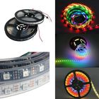 Meilleurs prix 5M WS2812B 5050 RGB Waterproof IP67 150 LED Strip Light Dream Color Changing Individual Addressable DC 5V