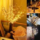 Acheter au meilleur prix LED Tree Branch Lamp Floral Lights Party Home Decor Holiday Birthday Gift LED Night Light