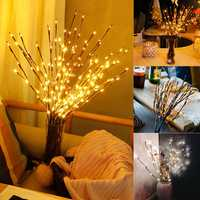 LED Tree Branch Lamp Floral Lights Party Home Decor Holiday Birthday Gift LED Night Light