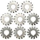 Meilleurs prix 8pcs Module 1.5 PA20 Bore 22mm #1-8 HSS Involute Gear Milling Cutter