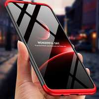 Bakeey™ 3 in 1 Double Dip 360° Full Hard PC Protective Case For Huawei Honor 8X Max