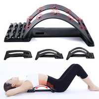 KALOAD Enhanced Edition Back Massage Stretcher Back Support Sport Fitness Cervical Lumbar Vertebrae Correction