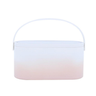 Les plus populaires MUID Cosmetic Bag Dressing Case Portable Travel Dresser Cosmetic Mirror Lamp Fixing Makeup Lipstick Skin Care Product Storage Box Basket