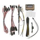 Meilleurs prix HG P402 P407 P601 P801 P802 1/10 1/12 RC Car Parts WE7021 IC Mainboard with LED Light Set