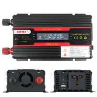 3000W Peak Power Inverter LCD Display DC 12/ 24V to AC 110V/220V Modified Sine Wave Converter