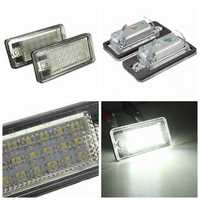 18 LED License Number Plate Light Lamp For Audi A3 A4 A6 A8 B6 B7 S3 Q7 RS4 RS6