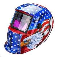 Solar Pro Auto Darkening Welding Helmet Arc Tig Mig Protect Grinding Welding Mask