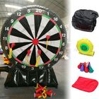 Les plus populaires 3M/9.85ft Outdoor Durable Game Giant Inflatable Dart Board with Air Blower 220V Toys