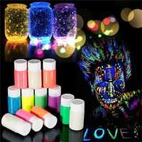 DIY Graffiti Paint Luminous Body Painted Waterborne Noctilucan Pigment Acrylic Glow in the Dark Party Skin Paint