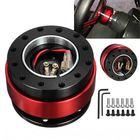 Meilleurs prix Universal Aluminum Alloy Steering Wheel Quick Release Hub Adapter Off Boss Kit
