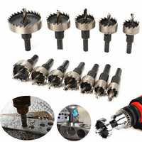 12pcs 15-50mm HSS Hole Saw Cutter HSS Drill Bits Set