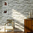 Promotion Brick Pattern 3D Textured Non-woven Wallpaper Sticker Background Home Decor Sticker