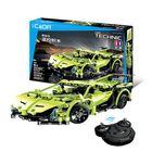 Les plus populaires Doublee CaDA Lamborghini Simulation Sports Car Building Blocks Toys Remote Control Car C51007W