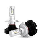 Acheter Pair X3 Car LED Headlights Bulbs H1 H3 H4 H7 H8/9/11 9005/9006 880 881 DIY Color Temp 50W 6000LM