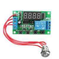 External Trigger Delay Switch Touch Button Relay Signal Timing Module Board