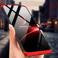 Bakeey™ 3 in 1 Double Dip 360° Hard PC Protective Case for Samsung Galaxy M20 2019