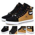 Acheter Men Round Toe High Top Sneakers Casual Leisure Lace Up Skateboard Shoes