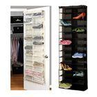 Meilleur prix 26 Interlayers Door Hanging Shelf Display Stand Holder Shoe Storage Organizer Bag