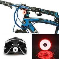 BIKIGHT COB LED Cycling Rear Warning Light 5 Modes USB Rechargeable Waterproof Bike Tail Light