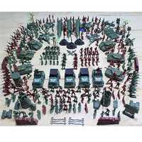307PCS 4-9CM Military Soldier Army Men Figure Model Building Suit For Kids Children Gift Toys