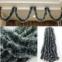 Christmas 2M Dark Green Ribbon Decor Christmas Tree Ornament Decoration Holiday Party Supplies