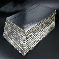 12Pcs 30cmx50cm 5mm Car Van Soundproof Deadening Mat Insulation Closed Cell Foam Sheet