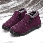 Discount pas cher LOSTISY Women Snow Shoes Waterproof Keep Warm Comfy Ankle Snow Boots