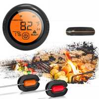 Bluetooth Wireless Smart Meat Thermometer 2 Probes For IOS Android Cooking BBQ