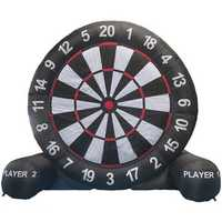 4M/13ft High Giant Inflatable Dart Board For Game Soccer With Air Blower 220V