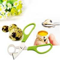 Stainless Steel Pigeon Quail Egg Scissors Egg Cutter Egg Opener Kitchen Gadget Tools