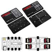 Universal 16 Slots Large Capacity Memory Card TF Card SIM Card Collection Case Storage Box
