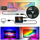 Meilleurs prix 1/2/3/4/5m DIY Ambilight TV PC USB LED Strip HDTV Computer Monitor Backlight