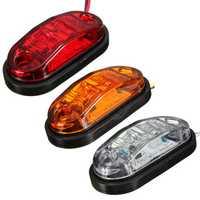 12V 24V Side Marker Lights Lamp For Car Truck Trailer