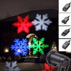Acheter Waterproof Moving Colorful Snowflake Laser Projector Stage Light Christmas Outdoor Landscape Lamp
