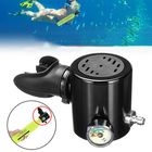 Les plus populaires Diving Oxygen Tank Cylinder Adapter Valve Head Set Replacement Mouthpiece Diving Accessories