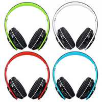 Foldable bluetooth 5.0 Wireless Headset Earphone Support FM Stereo Radio For Tablet Cellphone