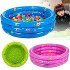 Acheter au meilleur prix 80CM 3 Ring Inflatable Round Swimming Pool Toddler Children Kids Outdoor Play Balls