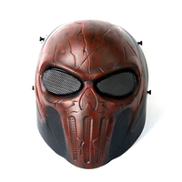 Tactical Airsoftsports Paintball Halloween Protective CS Field Game Cosplay Full Face Mask
