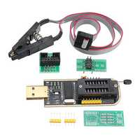 CH341A 24 25 Series EEPROM Flash BIOS USB Programmer + SOIC8 SOP8 Clip Adapter Module