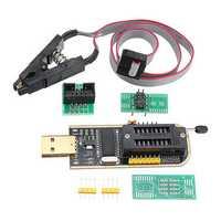CH341A 24 25 Series EEPROM Flash BIOS USB Programmer + SOIC8 SOP8 Clip Adapter Module