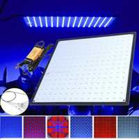 225 LED Grow Light Lamp Ultrathin Panel for Hydroponics Indoor Plant Veg Flower