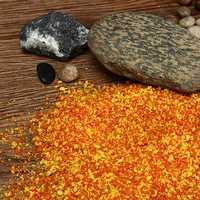 DIY Handmade Building Model Material Grass Tree Sponge Powder Orange Mixture Pollen