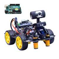 Xiao R DIY Smart Robot Wifi Video Control Car with Camera Gimbal Arduino UNO R3 Board